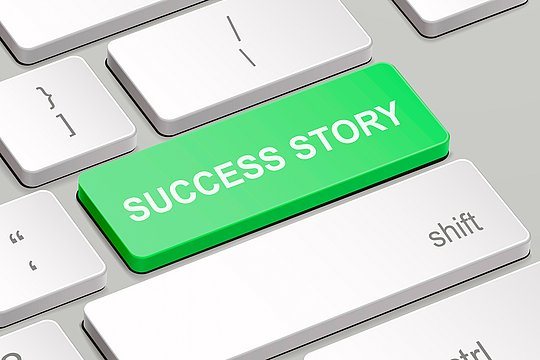 Image result for success stories images on computer keyboard