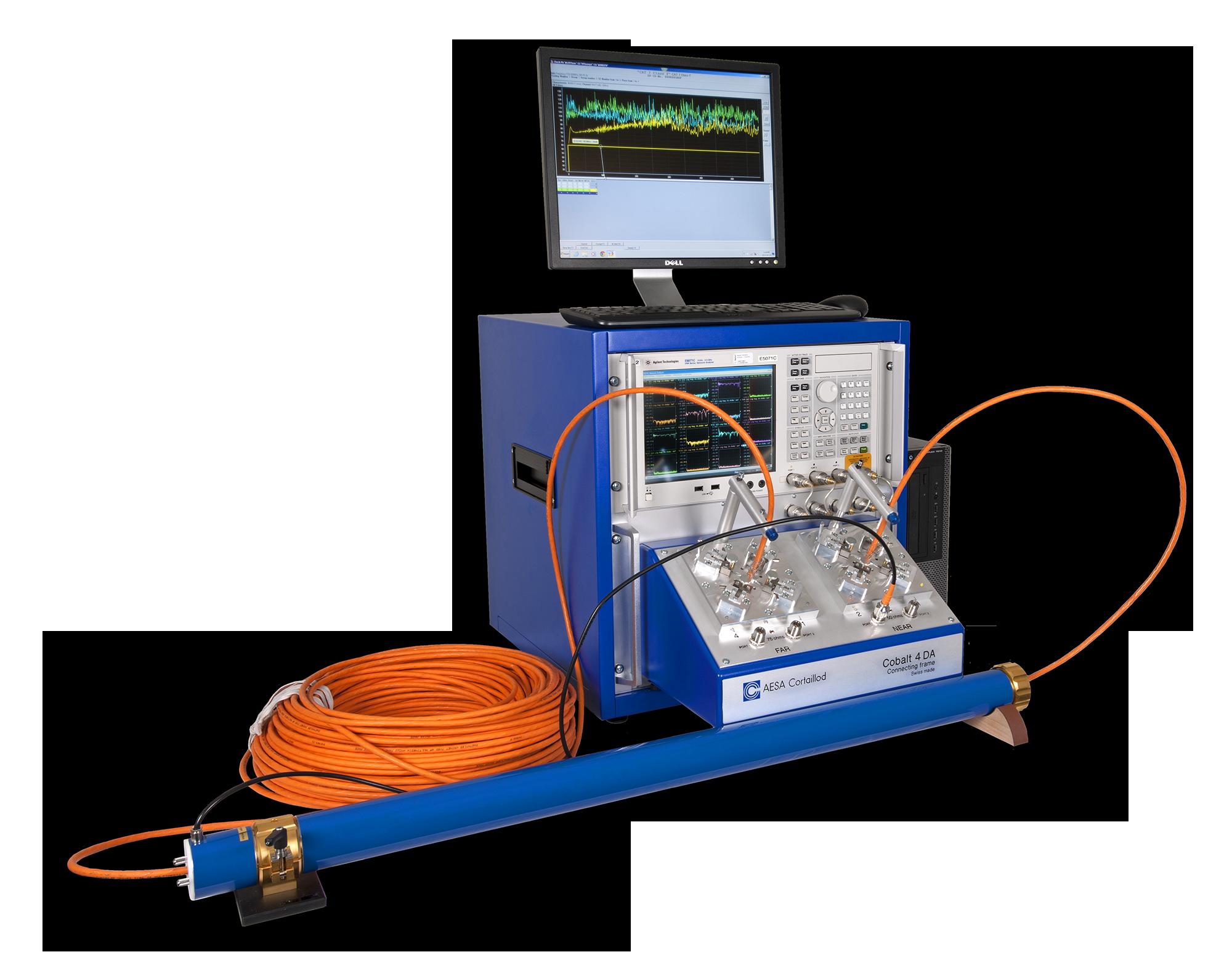 LAN (balunless) : Cobalt - AESA Cortaillod